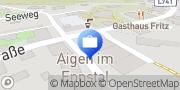 Karte Steiermärkische Bank u Sparkassen AG - SB Aigen Aigen im Ennstal, Österreich
