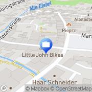 Karte Sparkassen-Versicherung Sachsen Hoyerswerda, Deutschland