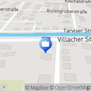 Karte Hofer & Partner Wirtschaftstreuhand u Steuerberatungs OG Klagenfurt, Österreich