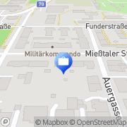 Karte Saremba & Schinogl Steuerberatungs- u Buchhaltungs KG Klagenfurt, Österreich