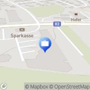 Karte Kärntner Sparkasse AG - Filiale Wayerfeld St. Veit, Österreich