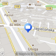 Mapa Allianz Polska SA Szczecin, Polska