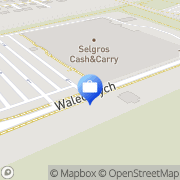 Mapa Bank Zachodni WBK. Bankomat Szczecin, Polska