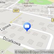 Mapa Delijewska M., agent ubezpieczeniowy Lubsko, Polska