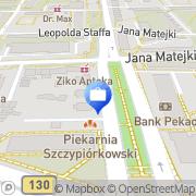 Mapa PKO Bank Polski. Bankomat Gorzów Wielkopolski, Polska