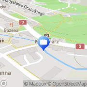 Mapa Bank Zachodni WBK S.A. 1 Oddział Szklarska Poręba, Polska