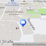 Karte Sparkasse Niederösterreich Mitte West Aktiengesellschaft St. Pölten, Österreich