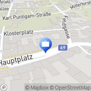 Karte GeneralAgentur Reichard GmbH Mureck, Österreich
