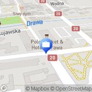 Mapa PKO Bank Polski. Bankomat Drawsko Pomorskie, Polska