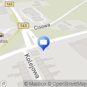 Mapa PKO Bank Polski. Bankomat Karlino, Polska