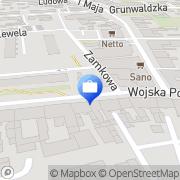 Mapa PKO Bank Polski. Bankomat Białogard, Polska