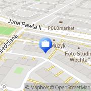 Mapa Bank Zachodni WBK. Bankomat Lubin, Polska