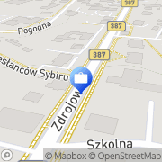 Mapa PKO Bank Polski. Bankomat Kudowa-Zdrój, Polska