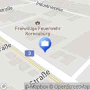Karte UNIQA Versicherungen AG Service Center Korneuburg, Österreich
