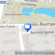 Karte Erste Bank AG Wien, Österreich