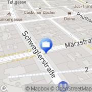 Karte Erste Bank – Filiale Märzstraße Wien, Österreich