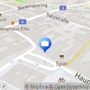 Karte Versicherungsbüro Premm Korneuburg, Österreich