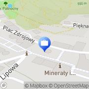 Mapa PKO Bank Polski. Bankomat Jedlina-Zdrój, Polska