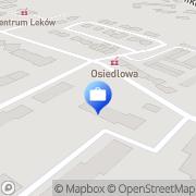 Mapa PKO Bank Polski. Bankomat Grodzisk Wielkopolski, Polska