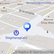 Karte Credit Medic Group Wien, Österreich