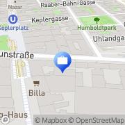 Karte Versicherungsbüro Schättle Favoriten Wien, Österreich