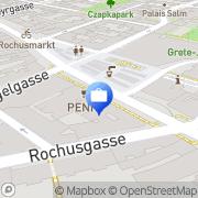 Karte Erste Bank – Filiale Landstraße Wien, Österreich