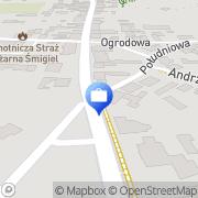 Mapa PKO Bank Polski. Bankomat Śmigiel, Polska