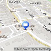 Mapa Ubezpieczenia SC Szamotuły, Polska
