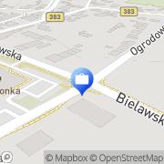 Mapa Bank Zachodni WBK S.A. Bankomat Pieszyce, Polska