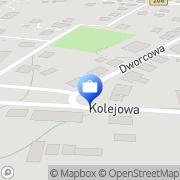 Mapa Bank Spółdzielczy w Sławnie. Oddział Polanów, Polska