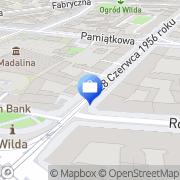 Mapa Gold Brokers Poznań, Polska