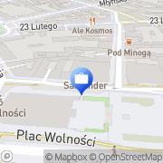 Mapa Bank Zachodni WBK S.A. 6 Oddział Poznań, Polska