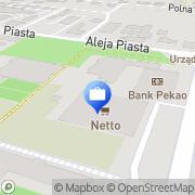 Mapa AIG Bank Polska S.A. Złotów, Polska