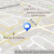 Mapa PKO Bank Polski. Bankomat Trzebnica, Polska