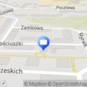 Mapa Bank Zachodni WBK S.A. Bankomat Strzelin, Polska