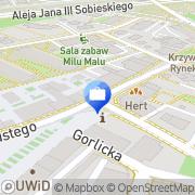 Mapa Bank Zachodni WBK S.A. IX Oddział Wrocław, Polska