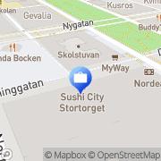 Karta Nordea Gävle, Sverige