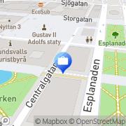 Karta Danske Bank Sundsvall, Sverige