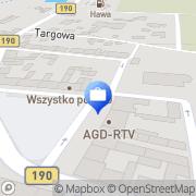 Mapa Agencja PKO Banku Polskiego Kłecko, Polska