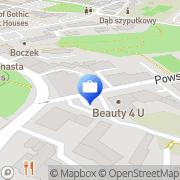 Mapa Treffler Katarzyna. Ubezpieczenia Brzeg, Polska