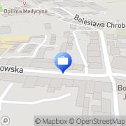Mapa Bank Zachodni WBK SA. 1 Oddział Prudnik, Polska
