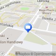 Mapa Bank Zachodni WBK. Bankomat Gniezno, Polska