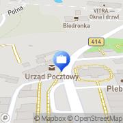 Mapa Bank Spółdzielczy. Oddział Prószków, Polska
