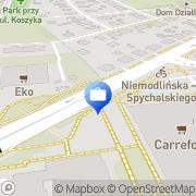 Mapa PKO Bank Polski. Bankomat Opole, Polska
