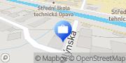 Map Audit-daně STEINOVÁ s.r.o. Opava, Czech Republic