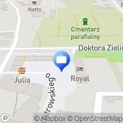 Mapa PKO Bank Polski. Oddział 1 Czersk, Polska
