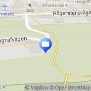 Karta Hamling&Nordh Investment Stockholm, Sverige