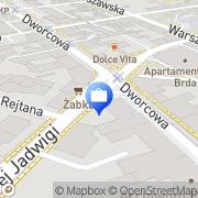 Mapa Bank Zachodni WBK SA. 1 Oddział Bydgoszcz, Polska