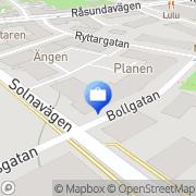 Karta Kundgirot AB Solna, Sverige