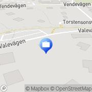 Karta Vertex Management AB Djursholm, Sverige